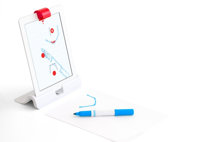 Osmo's Newton game is controlled by drawings, and even real world objects.