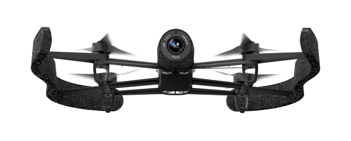 The Parrot Bebop drone. Photo courtesy of Parrot.