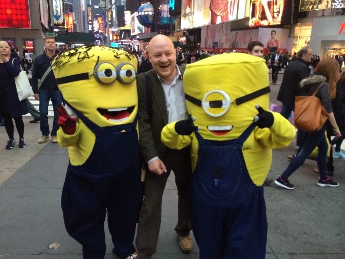 Simon Wardley and minions.