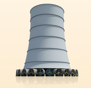 Solar Wind Energy Tower