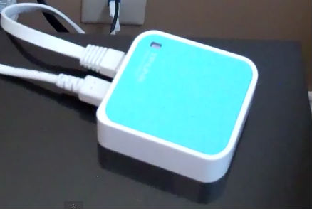 Stp-link travel router