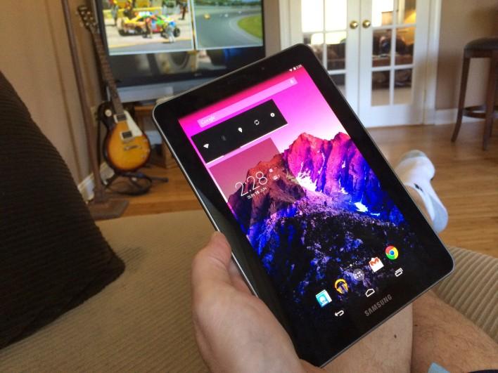 Galaxy Tab 7.7 KitKat