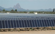 Solar Farm in Tucson, Arizona. Image courtesy of IBM Research, Flickr Creative Commons.