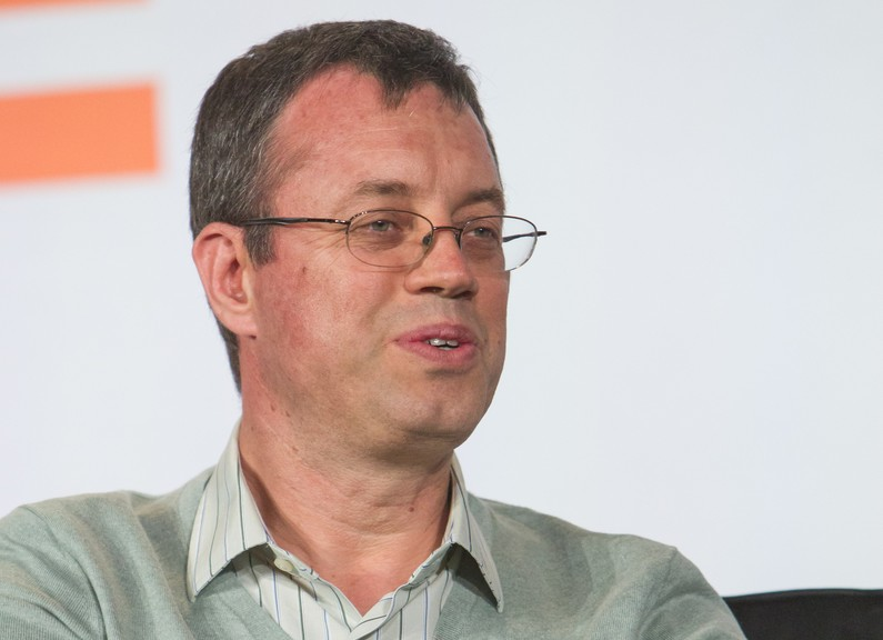 Ion Stoica at Structure Data 2014. (c) Jakub Moser