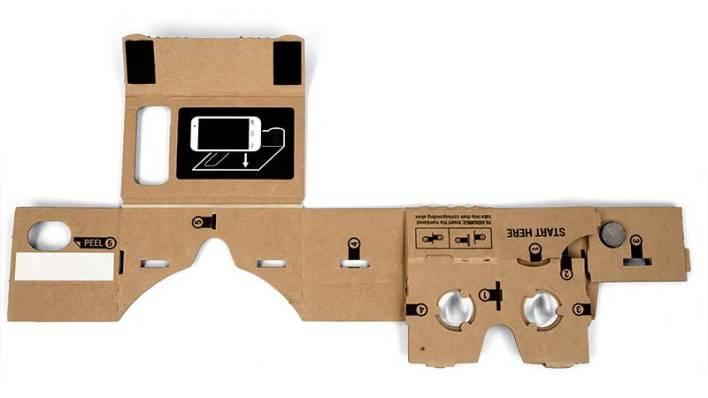 Google Cardboard before assembly. Photo courtesy of Google.
