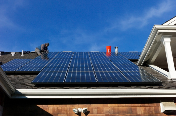 Solar panels, Image courtesy of Jon Callas, Flickr Creative Commons