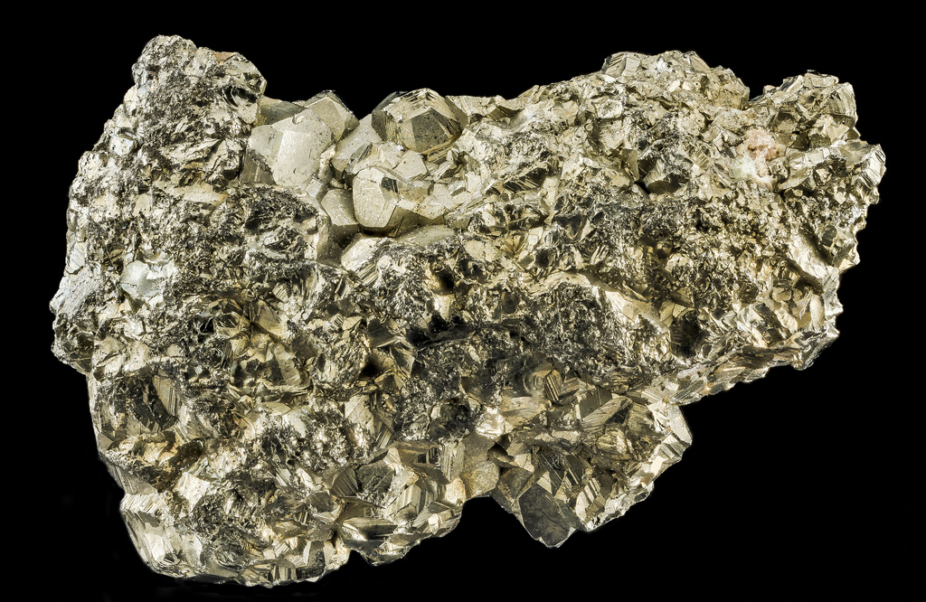 Iron pyrite, or fool's gold, Courtesy of USGS Bee Inventory