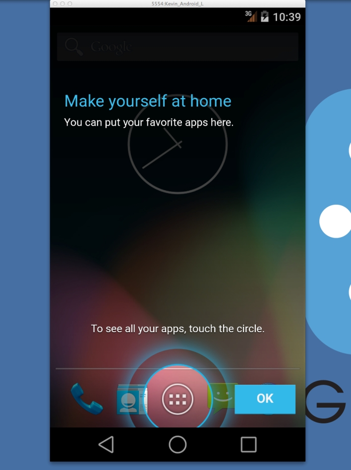 android l running