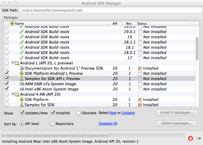 android SDK for L