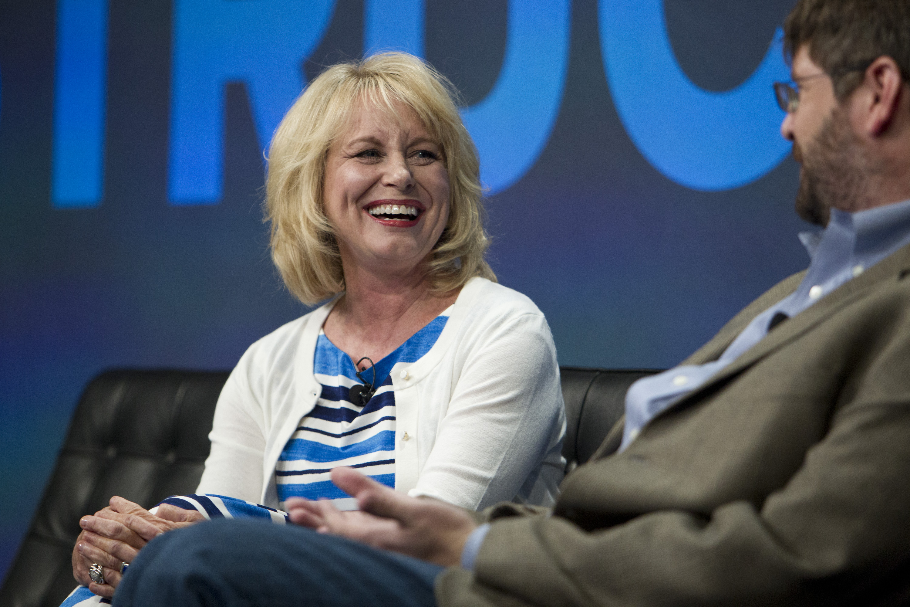 Diane Bryant, senior vice president and general manager of Intel's Data Center Group, at Structure 2014.