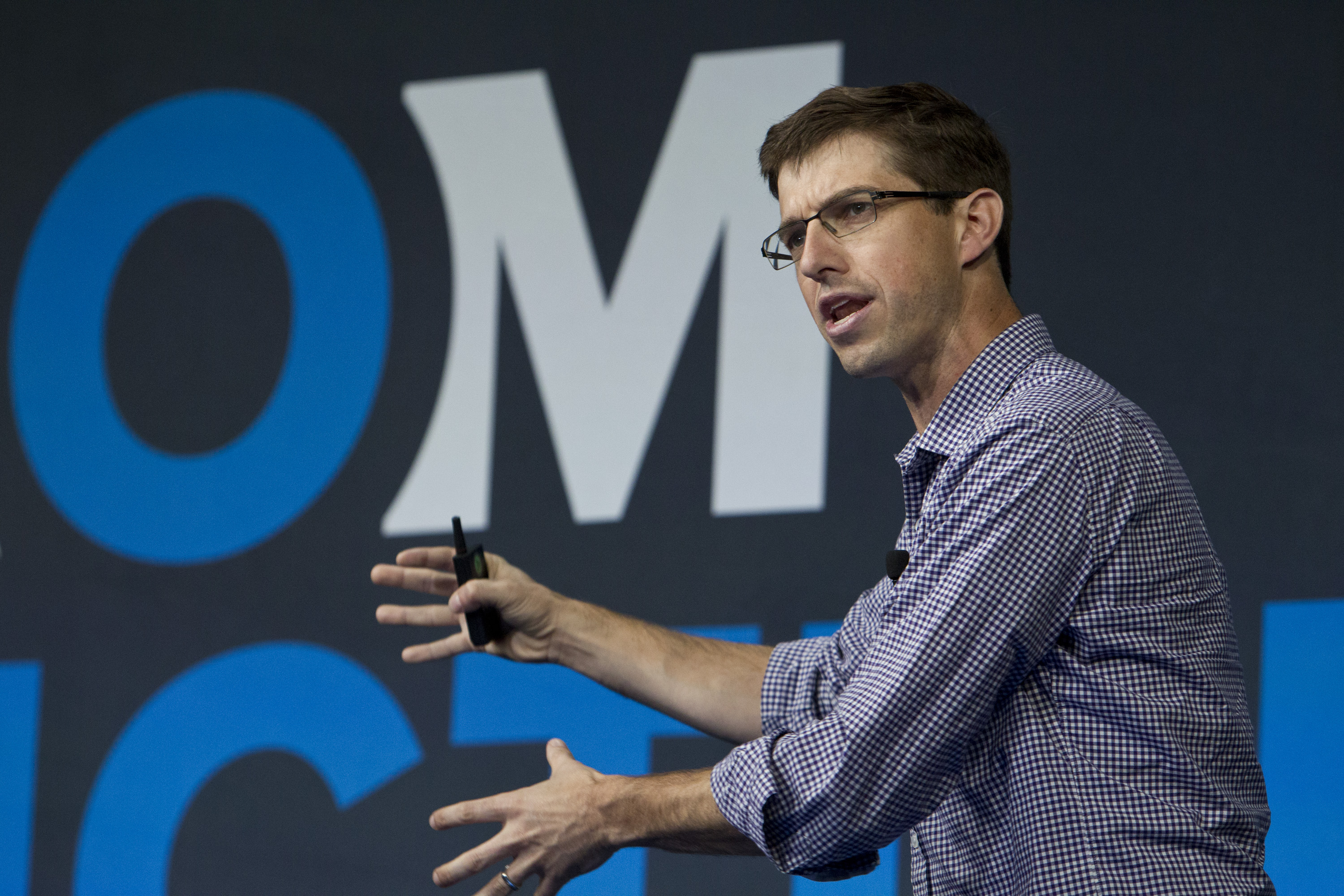 Bryan Cantrill at Structure 2014. Credit: Jakub Mosur