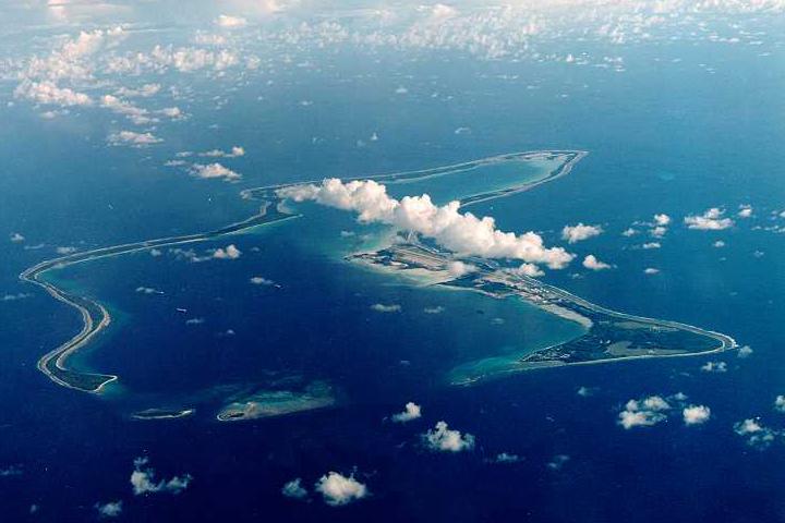 Diego Garcia atoll, Chagos Islands