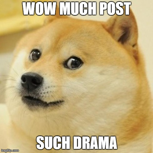 An example of a Doge meme. Courtesy of www.imgflip.com