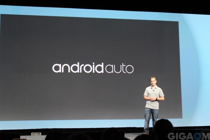 Google I/O android auto
