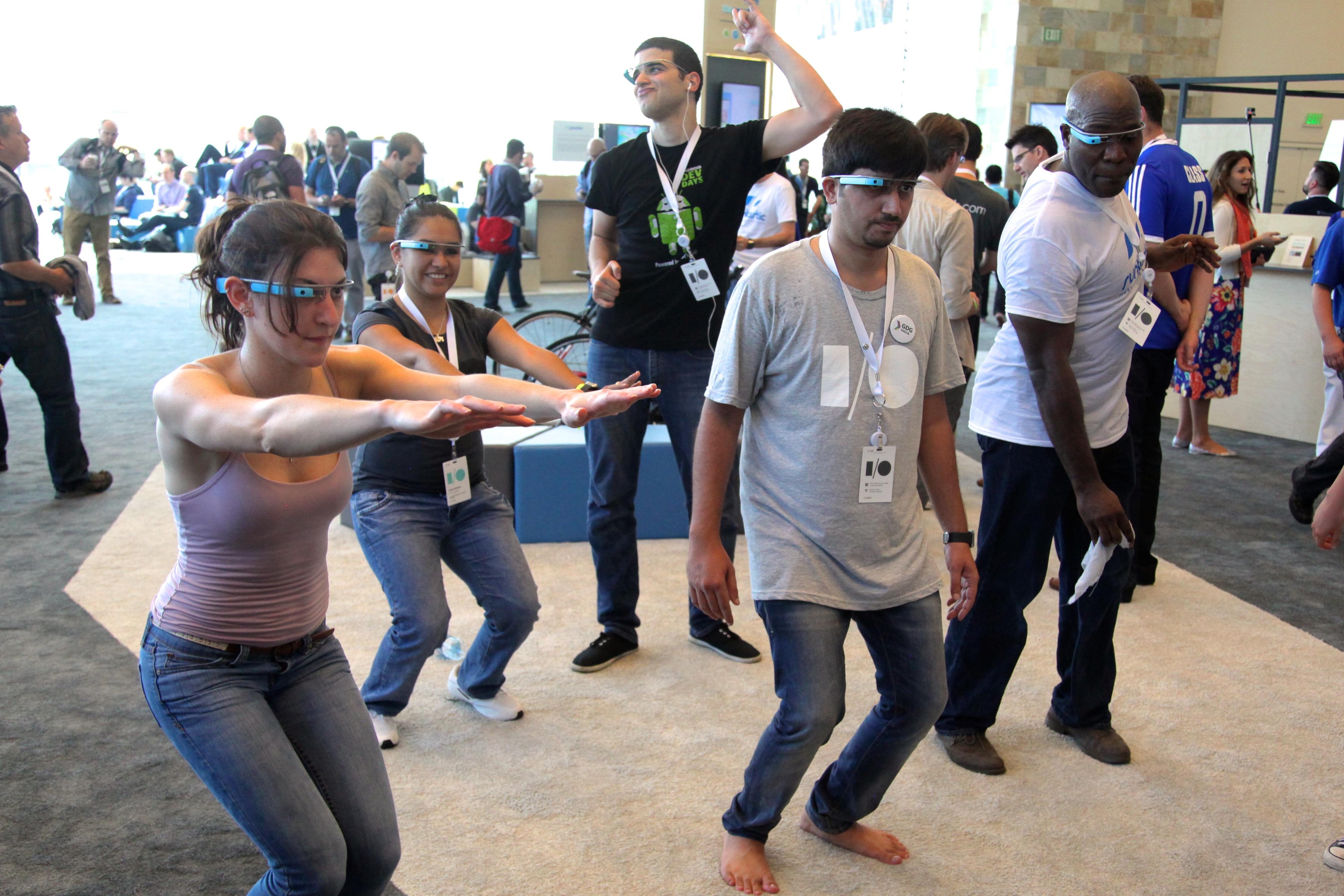 Google I/O Google Glass exercise