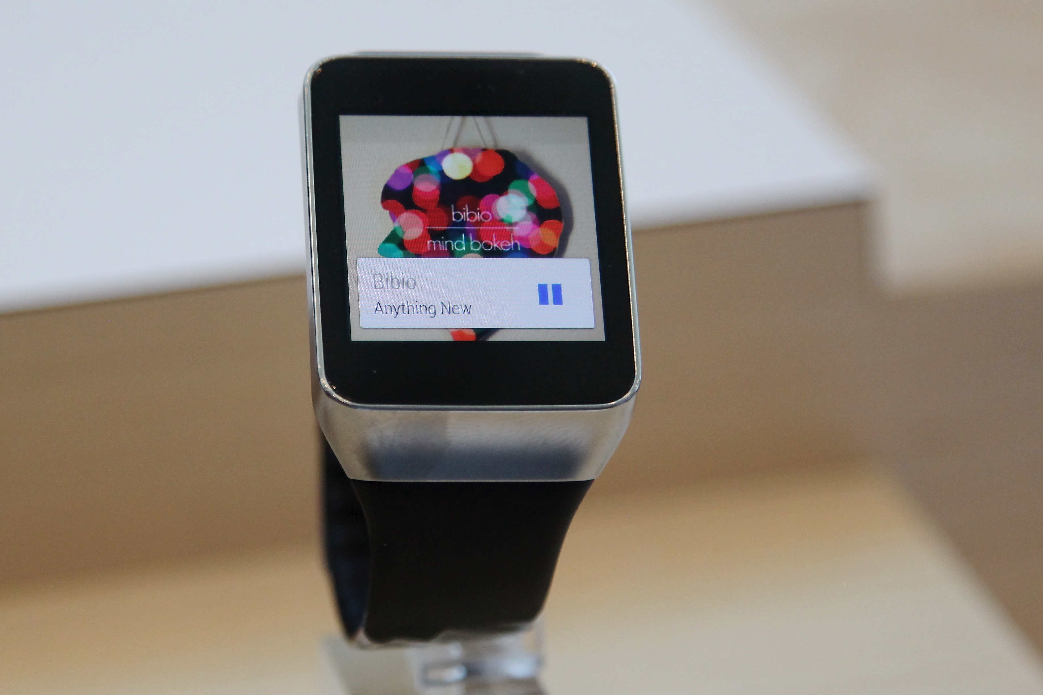 Google I/O Samsung Gear Live