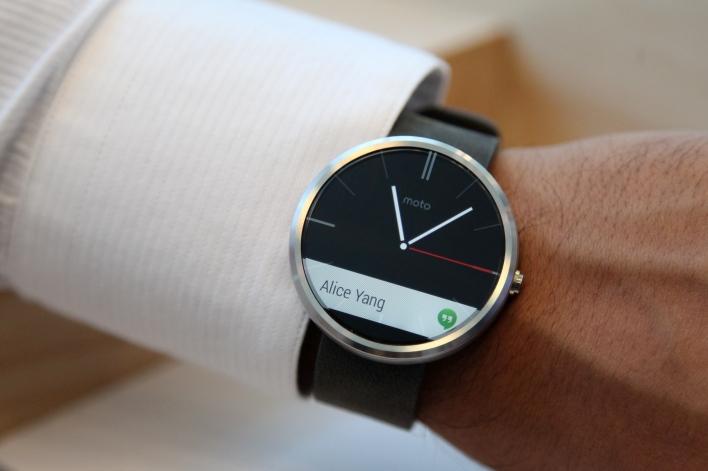 Google I/O Motorola Moto 360