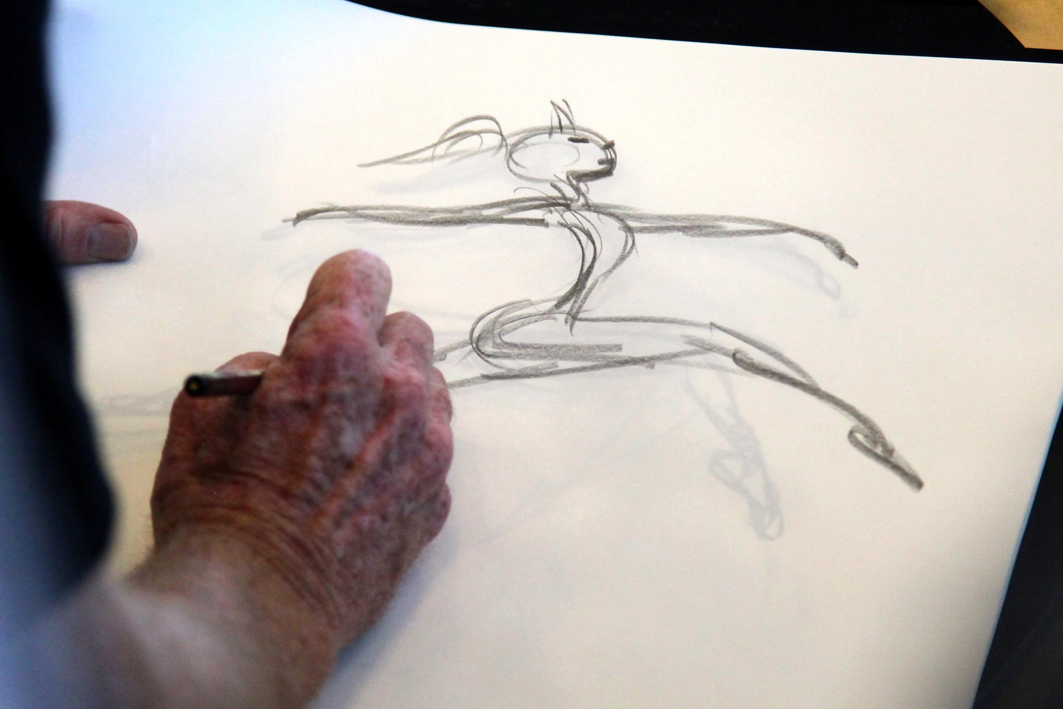 Google I/O animator, author and illustrator Glen Keane