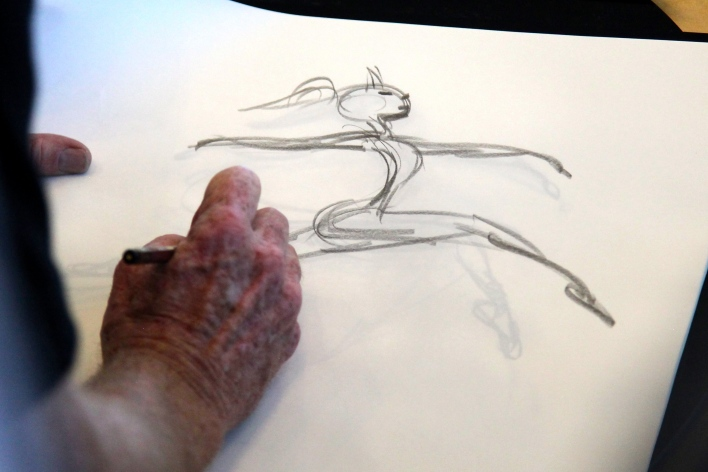 Google I/O animator, author and illustrator Glen Keane