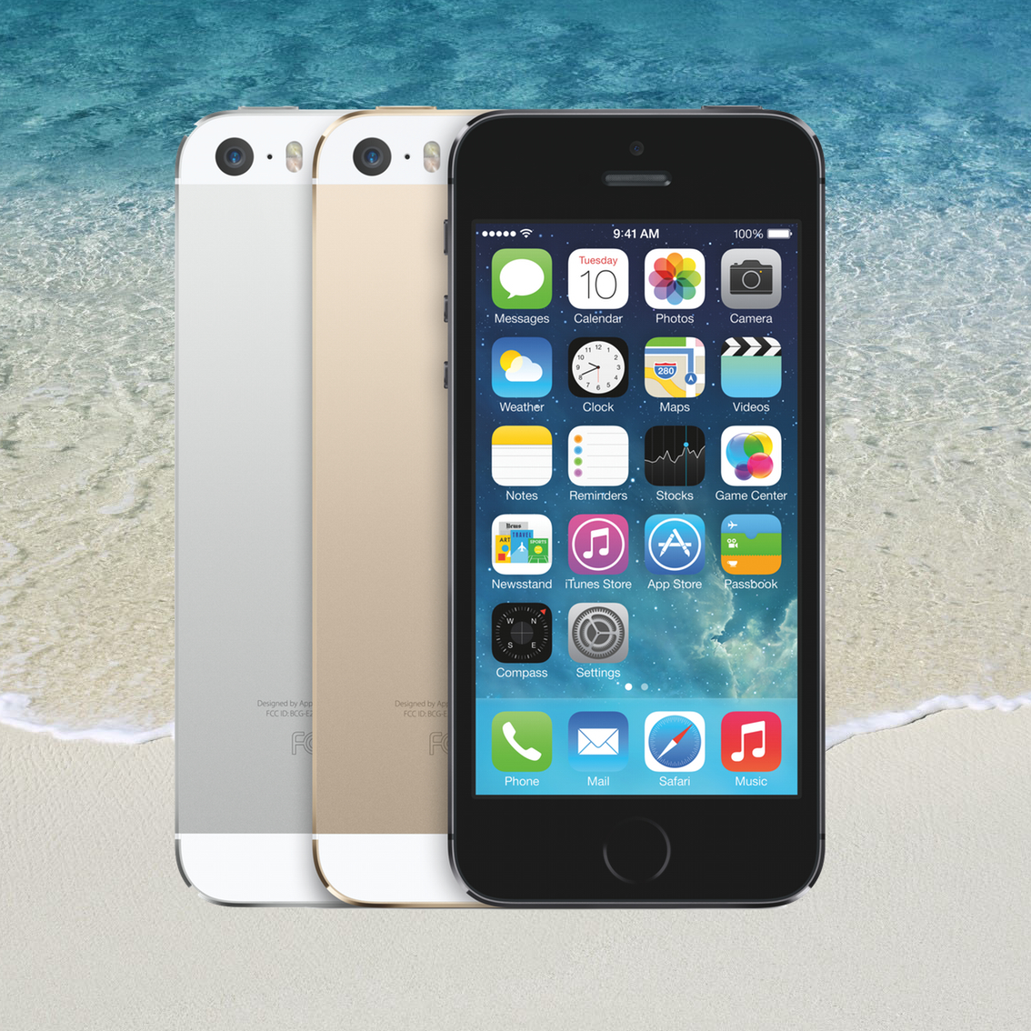 iPhone at the Beach