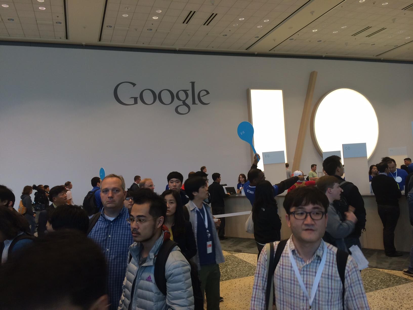 Google I/O 2014 crowd
