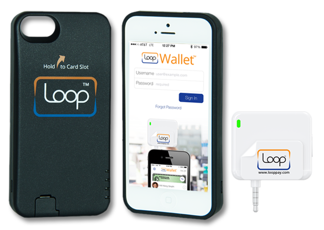 The Loop iPhone ChargeCase and fob