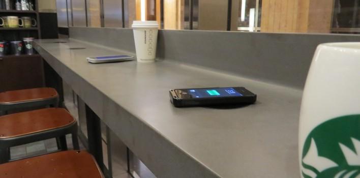 Powermat charging
