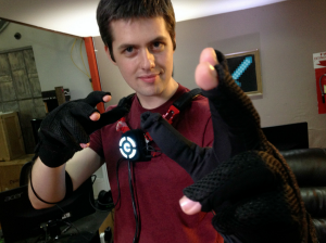 Control VR virtual reality gloves