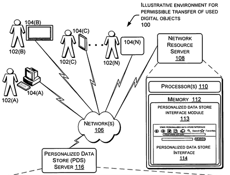patent for used amazon books