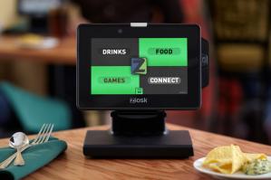 Ziosk tablet menu
