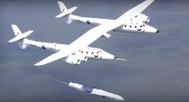 Virgin Galactic SpaceShipOne and LauncherOne
