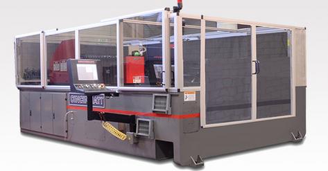 The BAAM 3D printer. Photo courtesy of Cincinnati Inc.