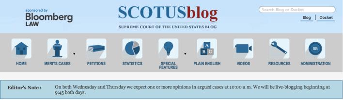 SCOTUSblog