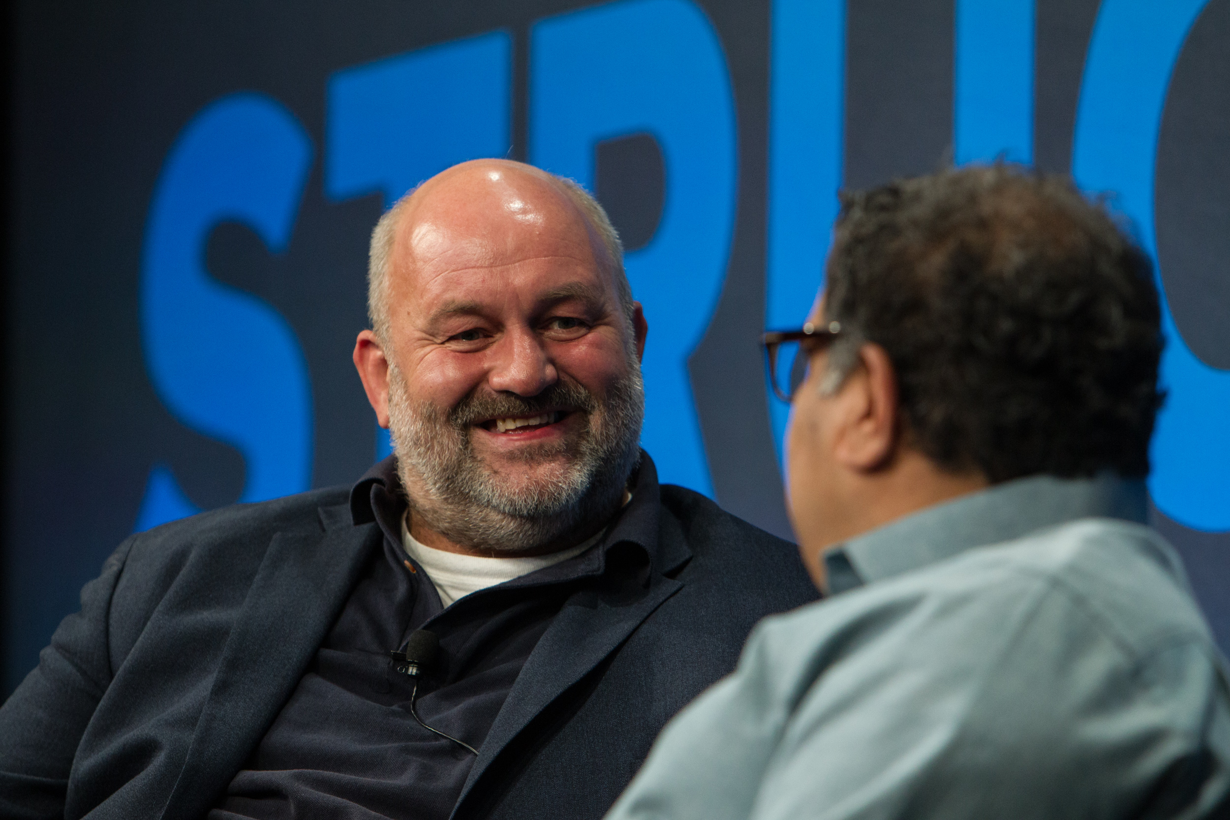 Amazon CTO Werner Vogels (left) at Structure 2014. (c) Jakub Mosur