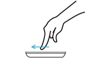 windows phone gestures
