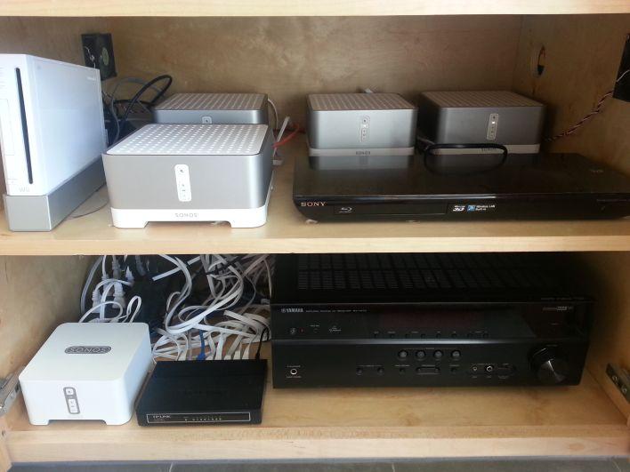 My Sonos bridge collection.