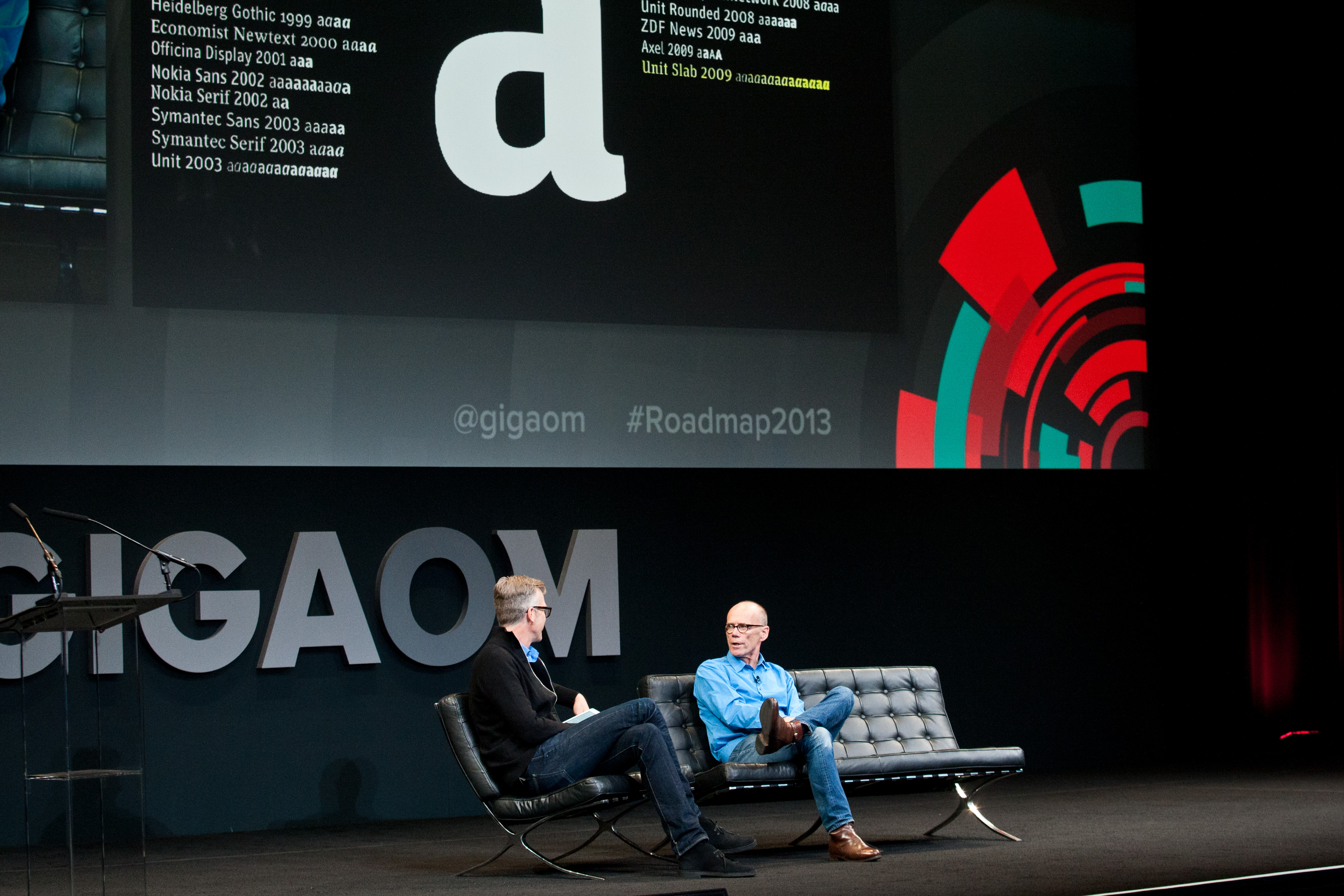 Erik Spiekermann, Designer, Edenspiekermann; Jeff Veen, Vice President, Products, Adobe Roadmap 2013