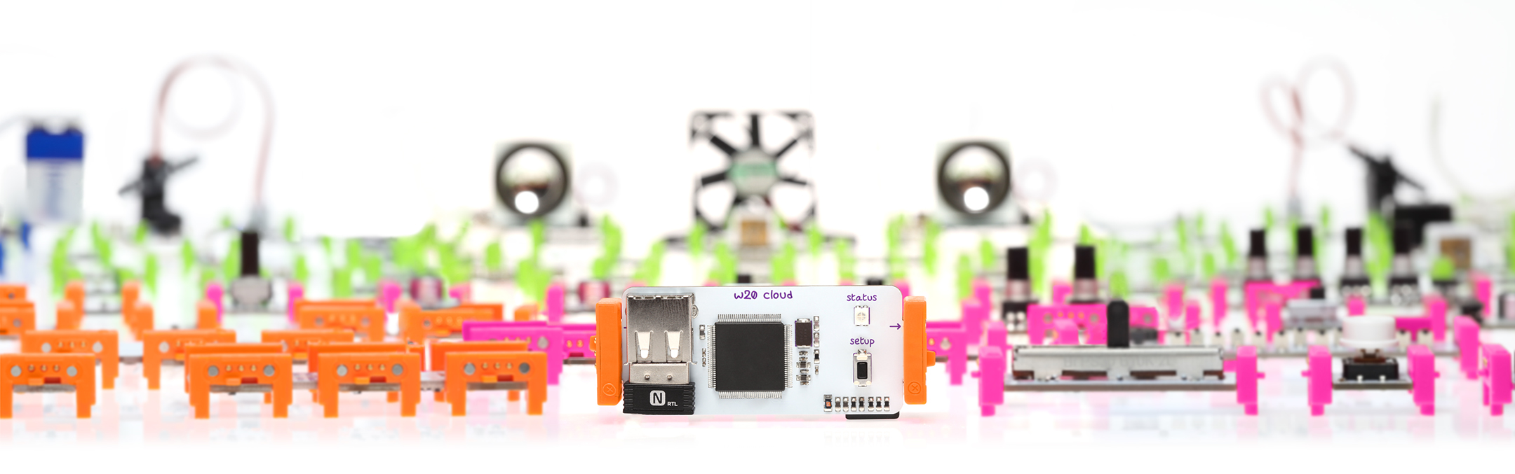 So many little bits from LittleBits.