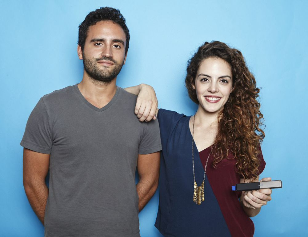 Jorge and Daniela Perdomo, siblings and co-founders of goTenna