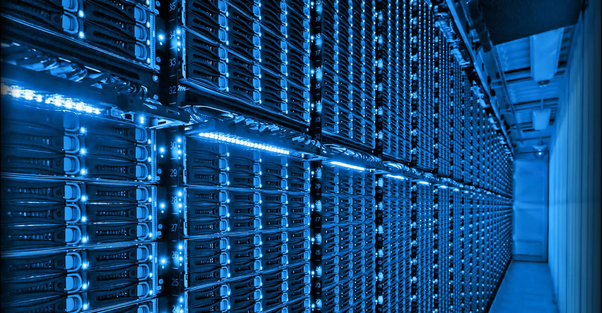 Can racks of cloud servers help save the world? Source: Microsoft