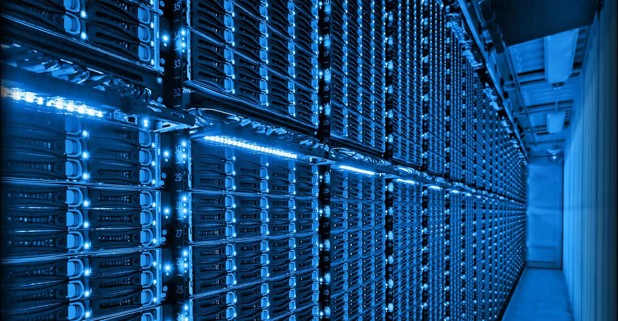 Can racks of cloud servers help save the world? Source: Microsoft