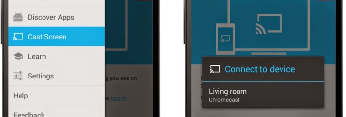 Android Chromecast mirror