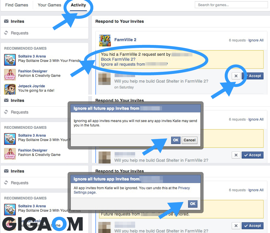 Gigaom How To Unfollow Mute Or Ignore People On Facebook Twitter