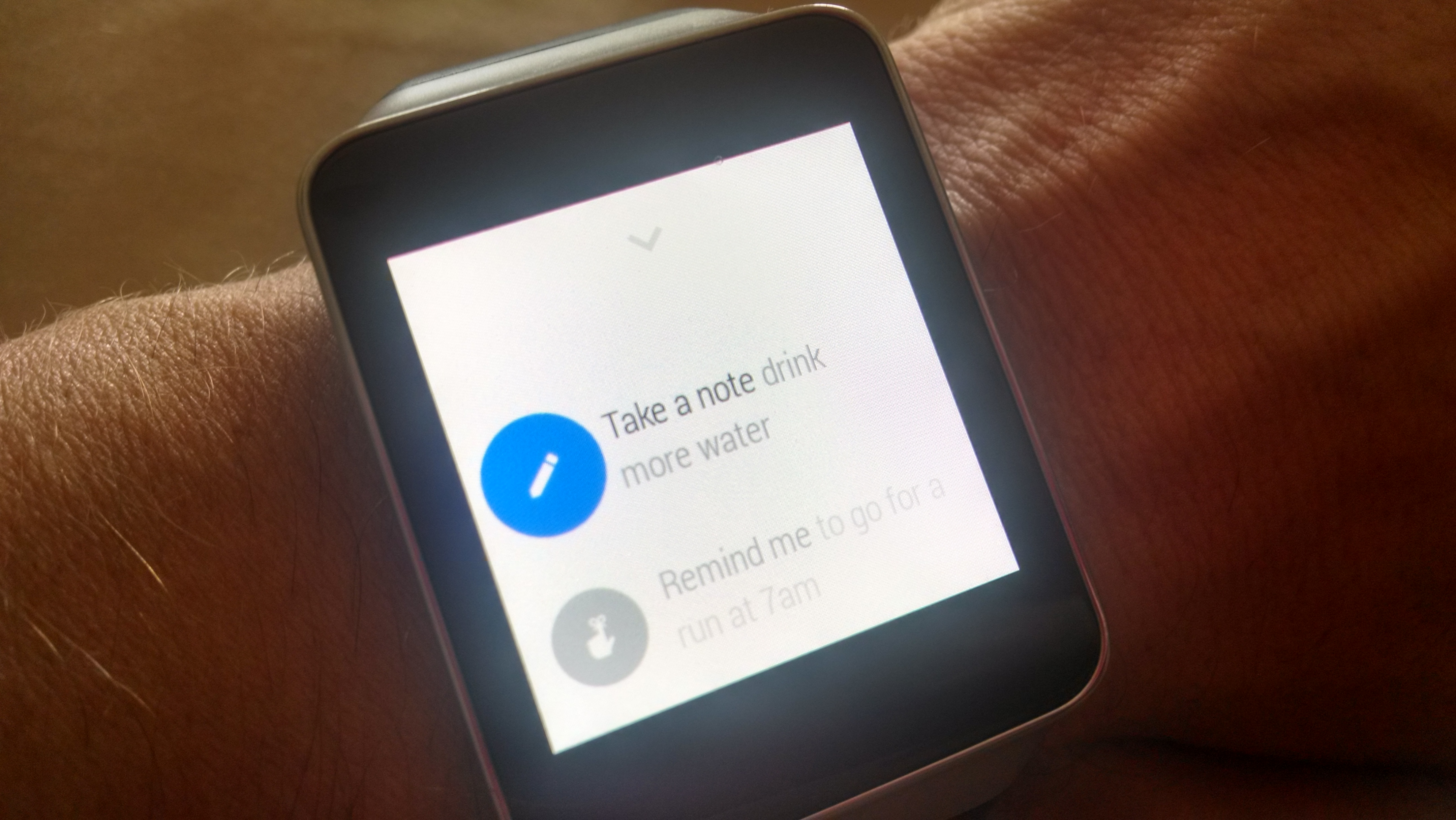 Android Wear options