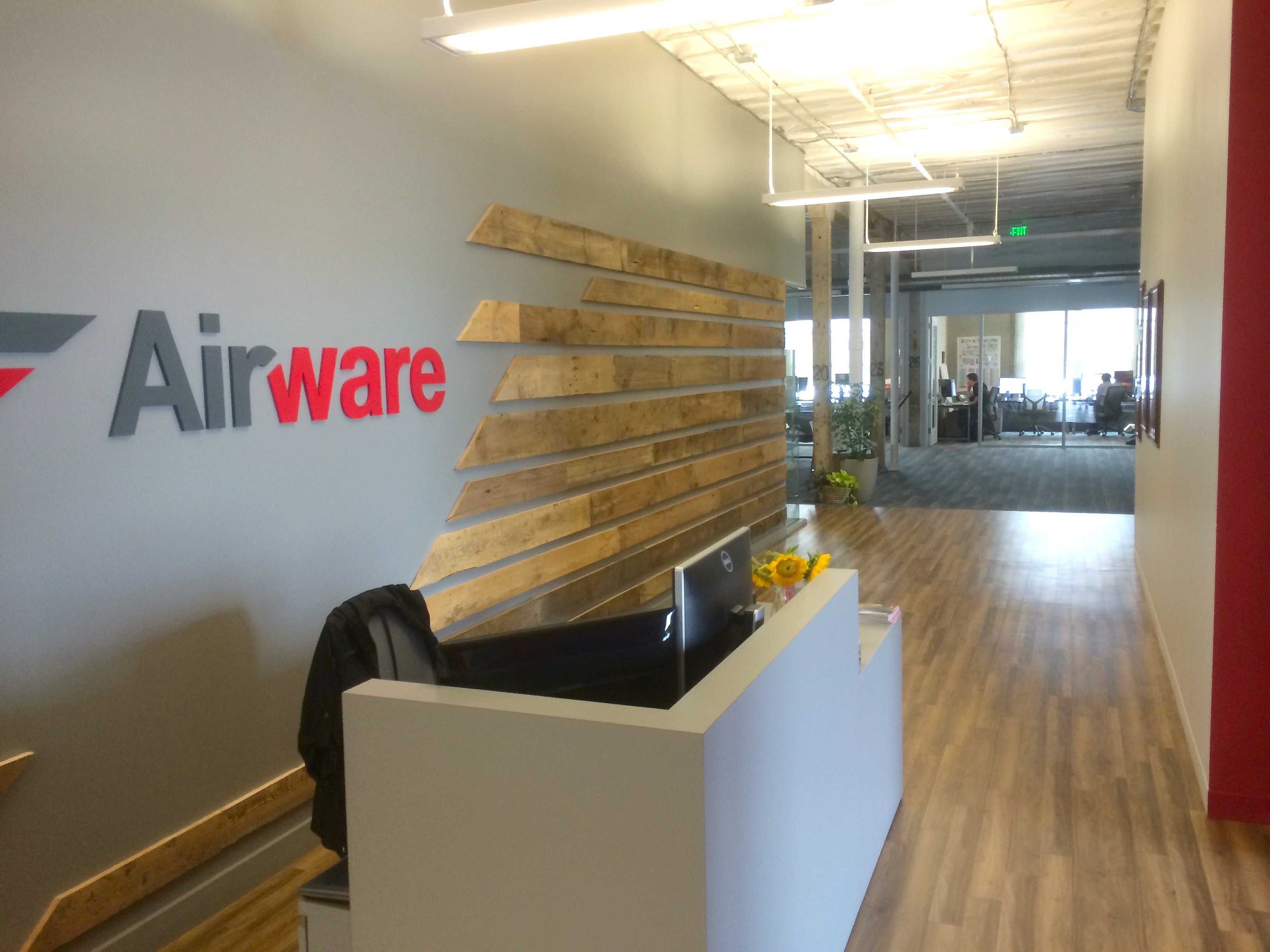 The Airware office in San Francisco's SoMa neighborhood. Airware makes and tests its hardware in the basement. Photo by Signe Brewster.
