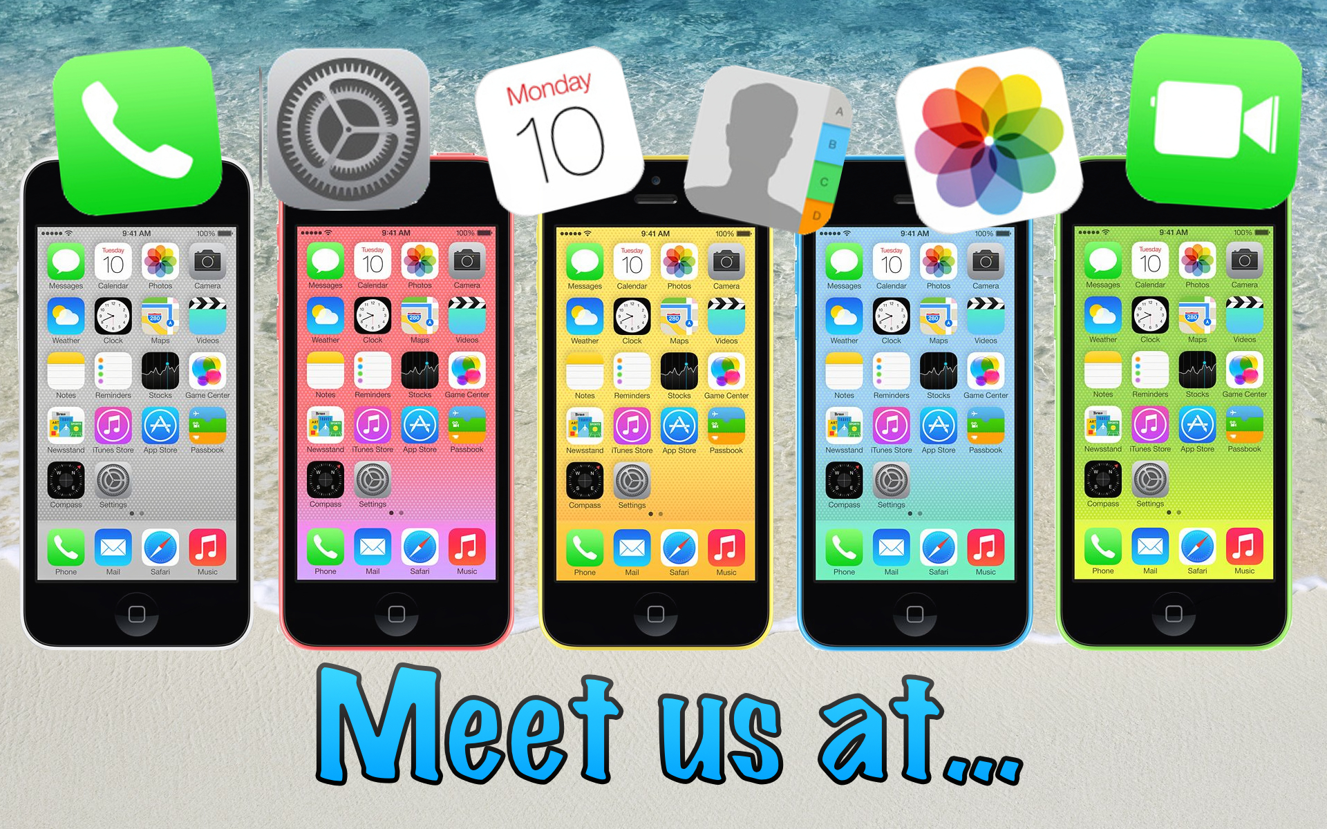 meet us at