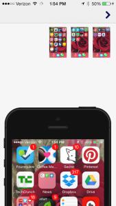 Homer app: Adding your phone screens