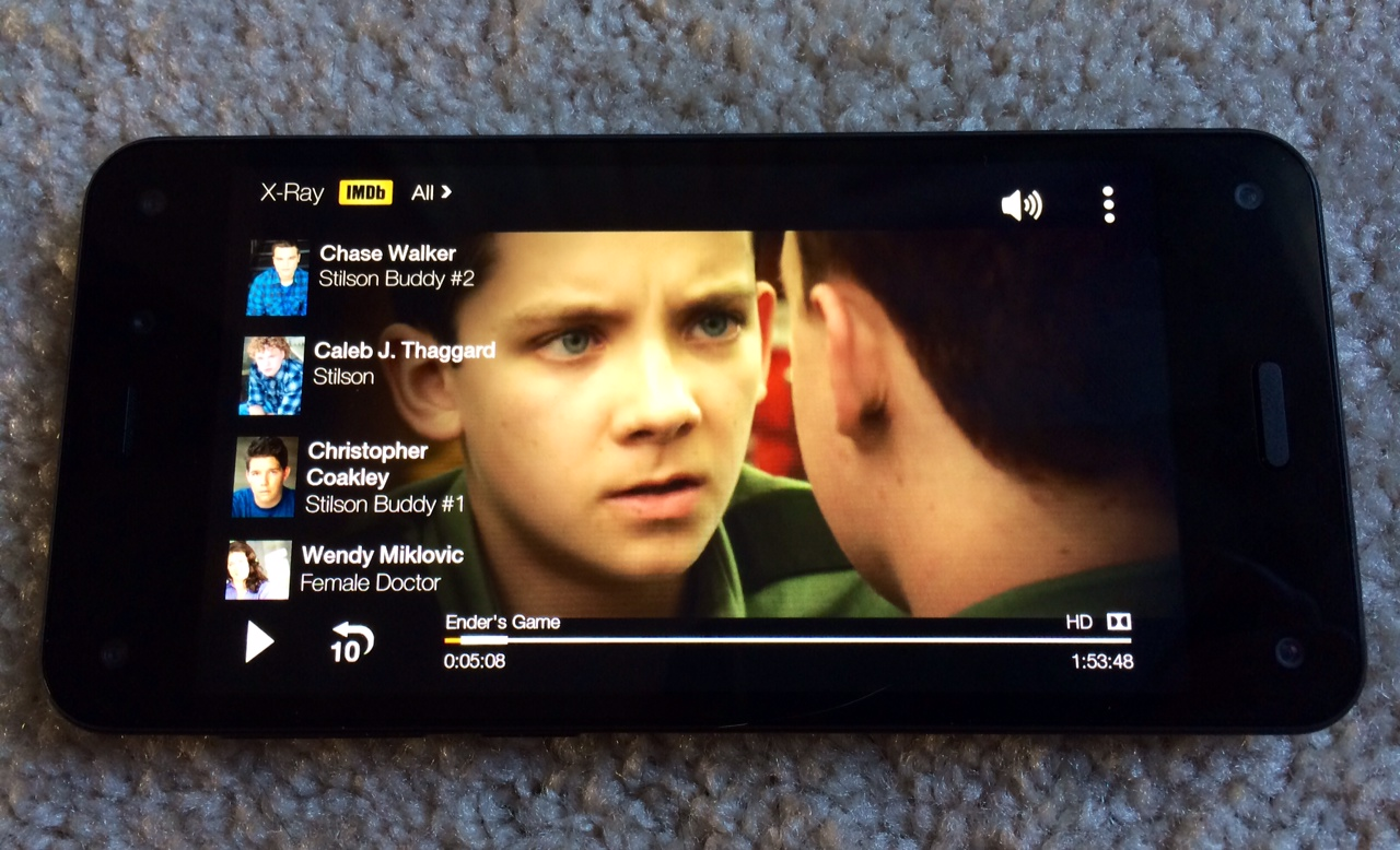 Fire Phone Instant Video