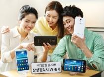 Samsung's Galaxy W, a 7-inch smartphone