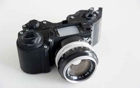 3D printed SLR film camera
